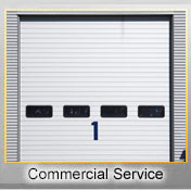 Garage doorcommercial service